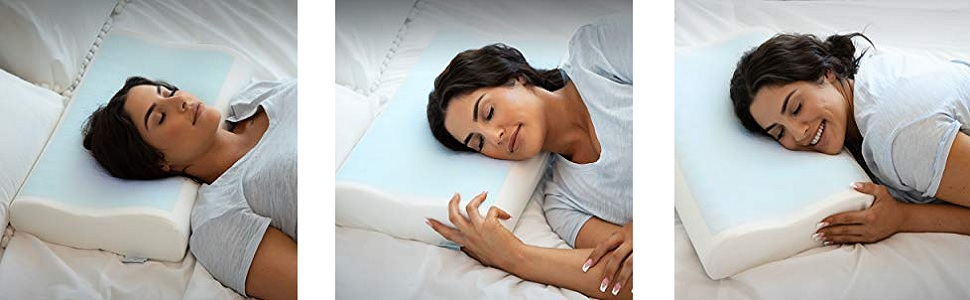 comfortable cotton gel pillow