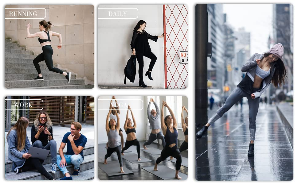 Raypose Women Yoga capri Leggings