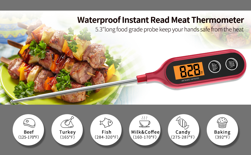 digital food meat thermometer thermometer for cooking