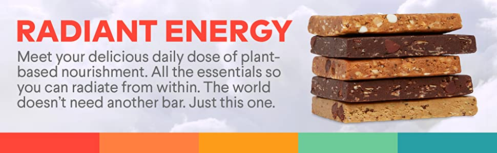 Radiant energy. Meet your delicious daily dose of plant-based nourishment