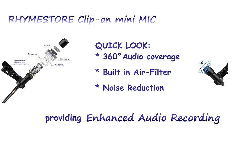 360 enhance audio recording