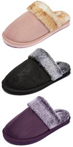 slippers fluffy women