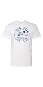 Ocean fishing tshirt