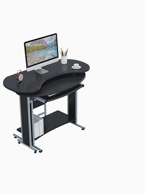 rotaing computer desk