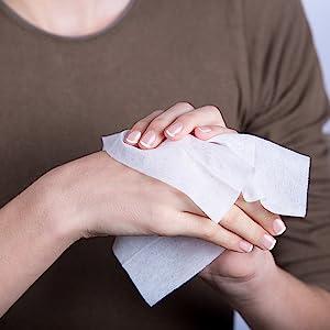 flushable wipes individually wrapped