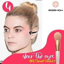Makeup Brush Set Premium Synthetic Kabuki Brush Cosmetics Foundation Concealers Powder