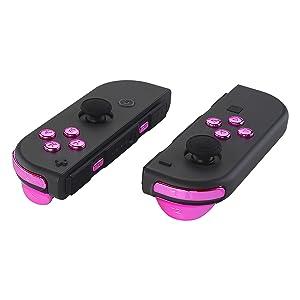 Replacement ABXY Direction Keys SR SL L R ZR ZL, Full Set Buttons for Nintendo Switch Joy-Con