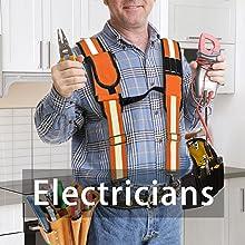 electricians tool belt suspender