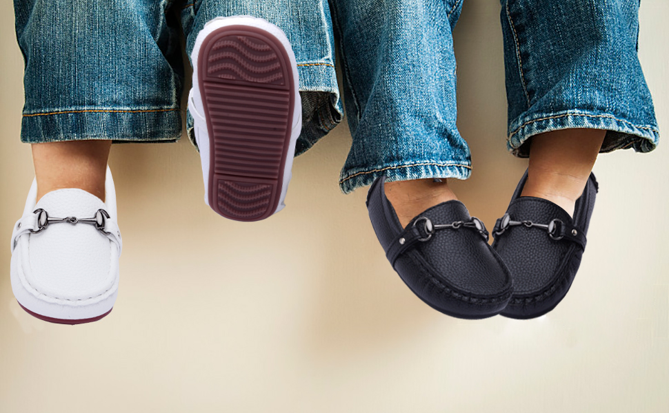 CUTE BOYS LOAFERS