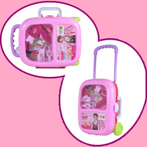 Portable Durable Trolley Suitcase Container