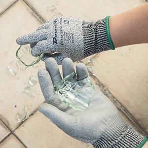 Glass garden cut proof work gloves