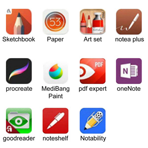 apple pen recommended apps