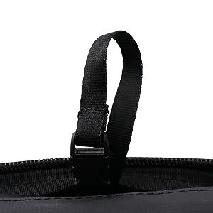 PureVave toiletry bag, convenient strap