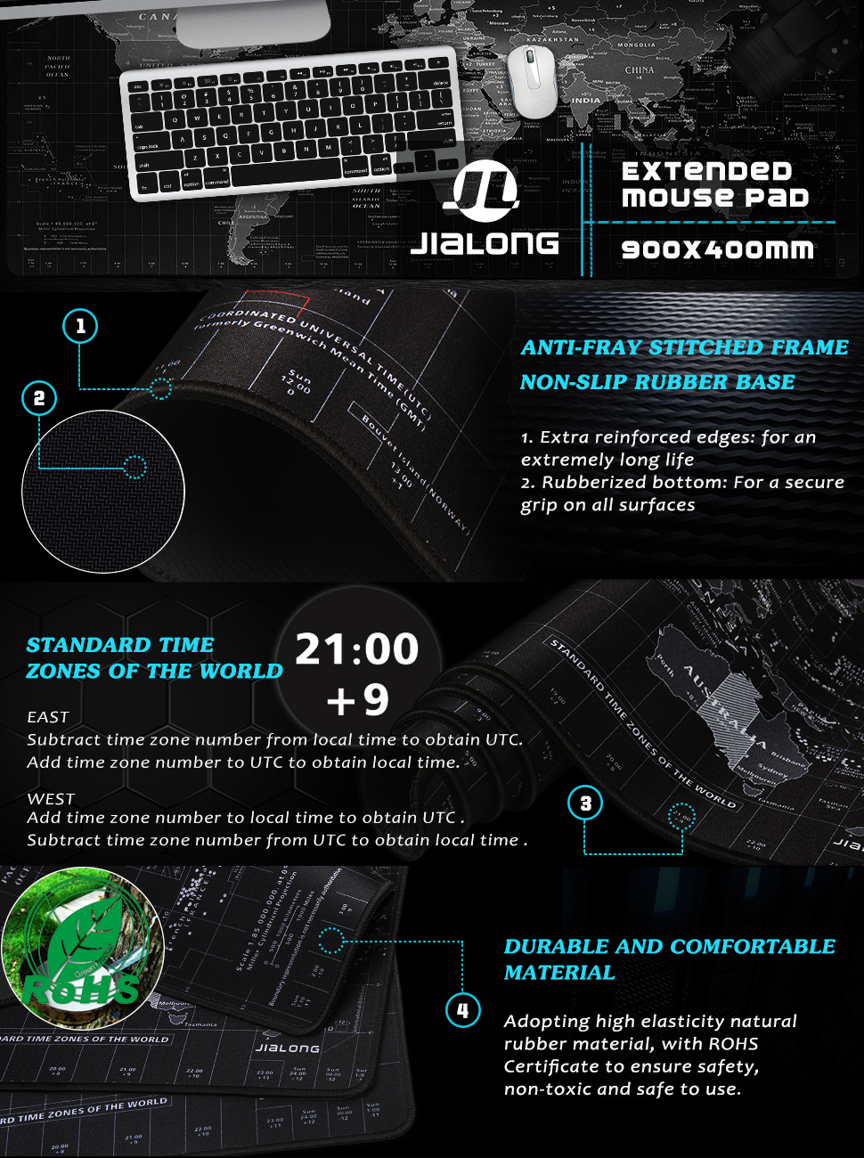 gaming mouse pad large extended full desk mousepad mat xxl xl big keyboard extra protector cover