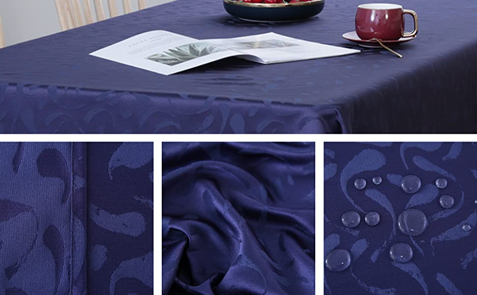 water resistant tablecloth