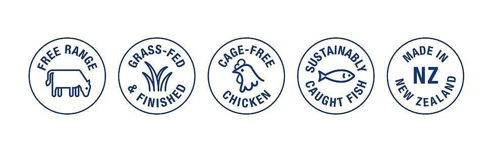 free range grass fed meat