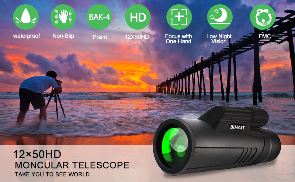 Includes features waterproof, shockproof, high-definition