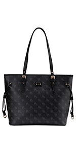 shoulder purse, tote bag, vegan leather, brentano, medium size,