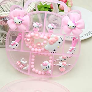 hello kitty jewelry for girls