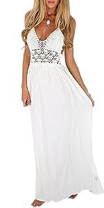 Halter Maxi Long Dress