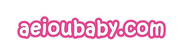 logo aeioubaby educatief speelgoed cadeaus verjaardagsfeestjes kinderen