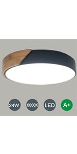LED Plafonnier 24W