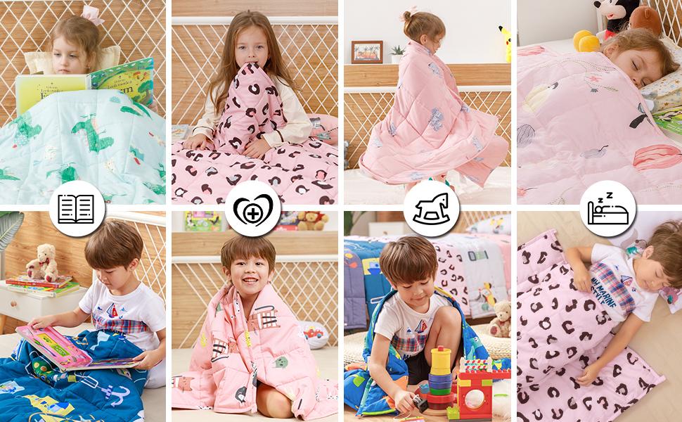 Sivio kids heavy blanket