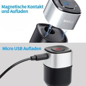 2 Wege um den Bluetooth Empfänger aufzuladen