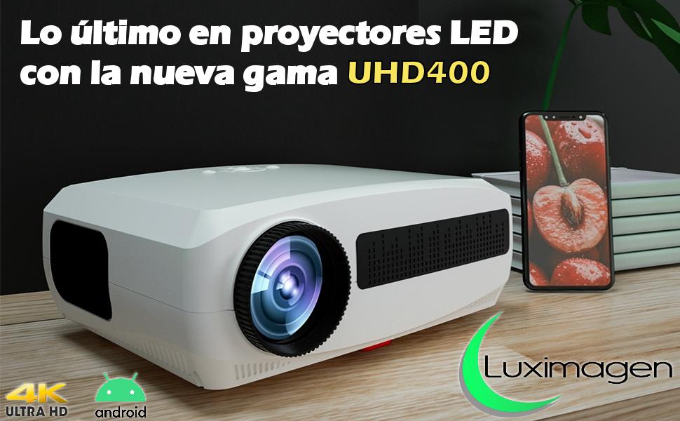 proyectores 2021, proyector 4k nativo, proyector de led, proyetor portatil, proyector para series
