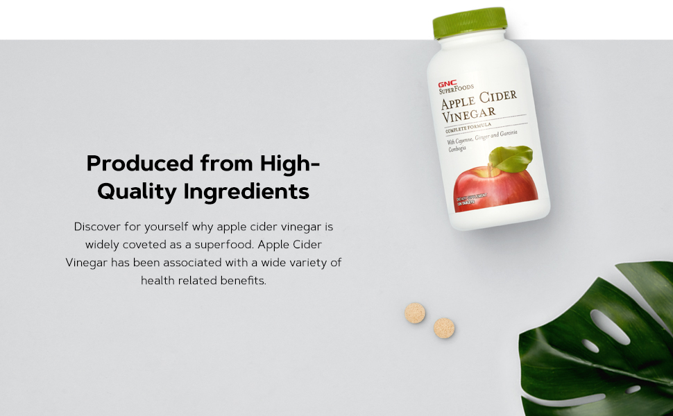 Produced from High-Quality Ingredients