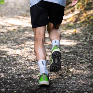 Loopsokken Prestaties witte sokken lopen running sportsokken.