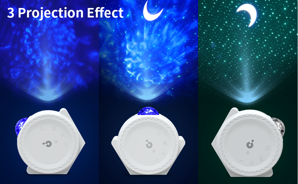 Stars and Moon Projector Star Lights, Let You Enjoy Your Journey to the Universe