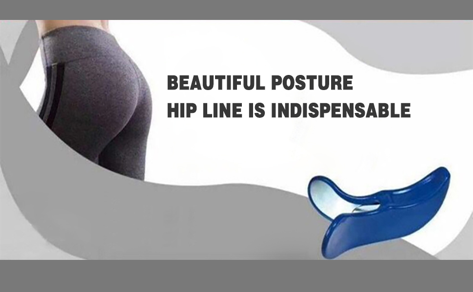 Beautiful posture & hip line is indispensable