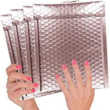 ROSE GOLD BUBBLE MAILERS