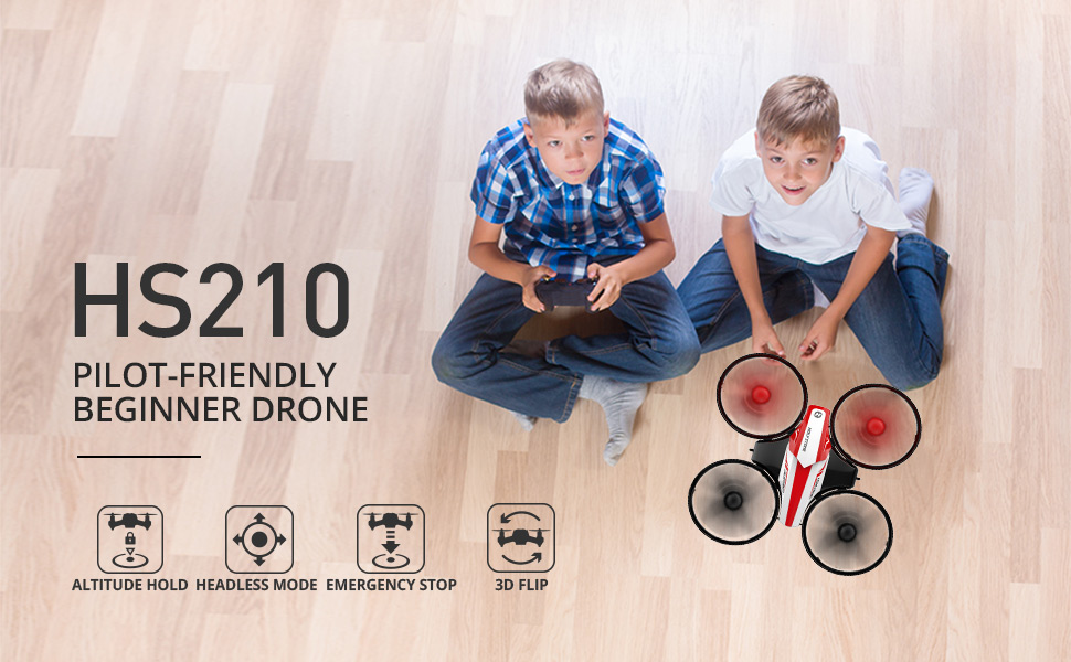 1-Holy Stone HS210 Mini Drone RC Nano Quadcopter Best Drone for Kids and Beginners
