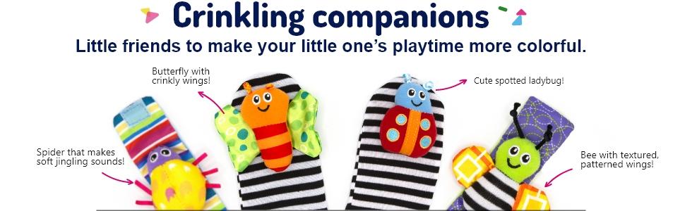 Crinkling companions