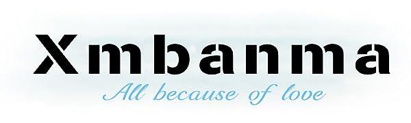 Mens flamingo swim trunks, brand logo xmbanma, all because of love
