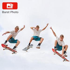 Burst Fotoğraf