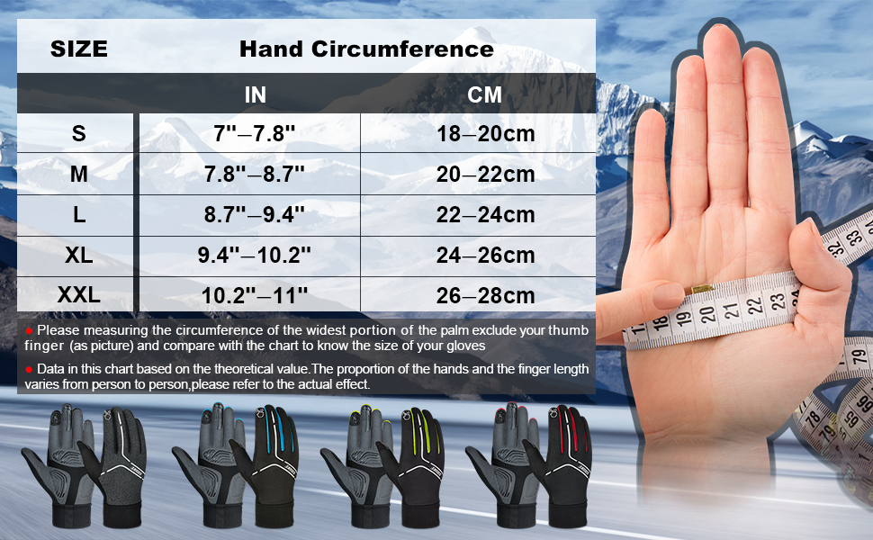 warm gloves for men