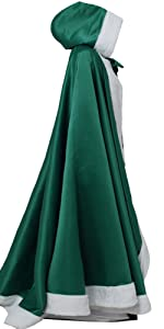 Princess Hooded Costume Cape