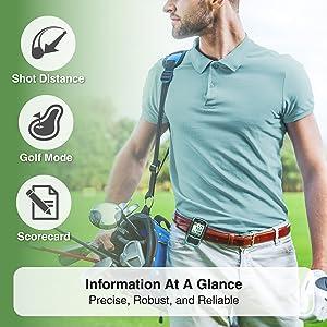 CANMORE HG200 Handheld Golf GPS Color Display 38,000 Free Courses Worldwide Waterproof
