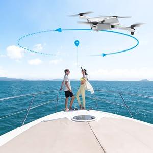 GPS circle flight