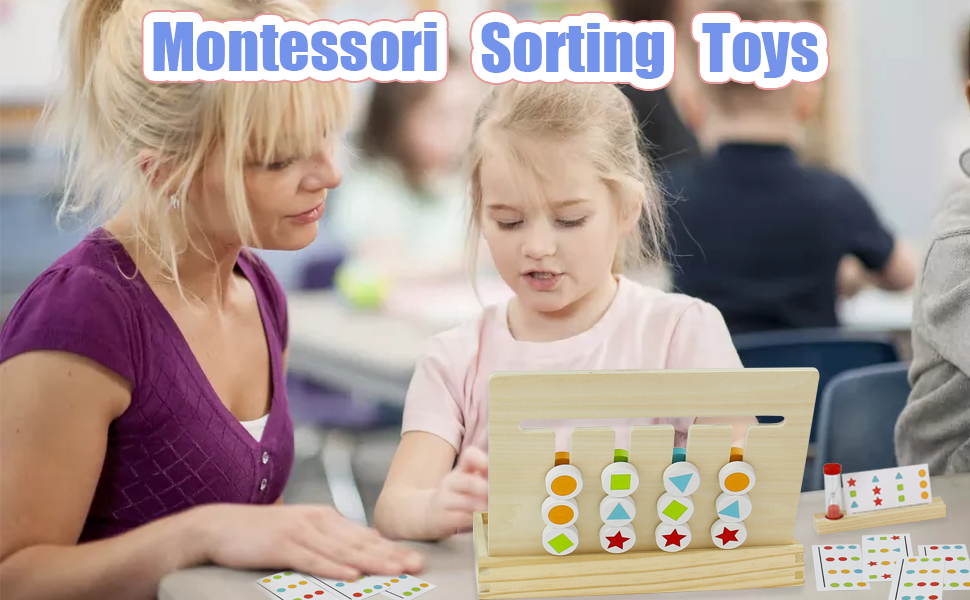 Montessori Sorting Toys