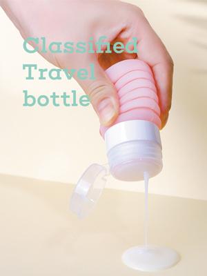 Classified travel bottle