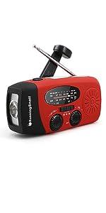 MD-088 crank radio