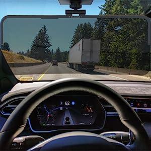 sun car visor blocker extender shade glare anti