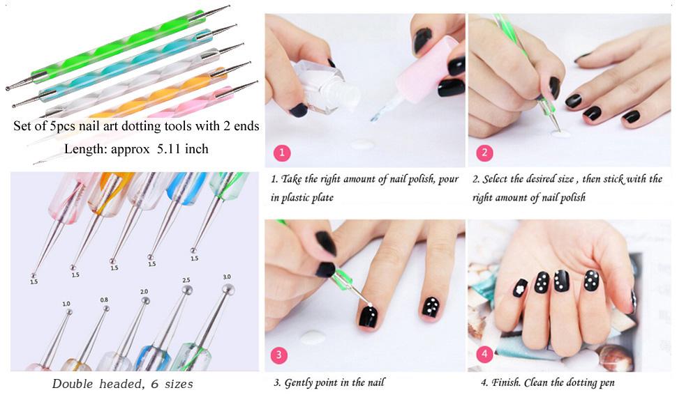 Dotting Pens Use