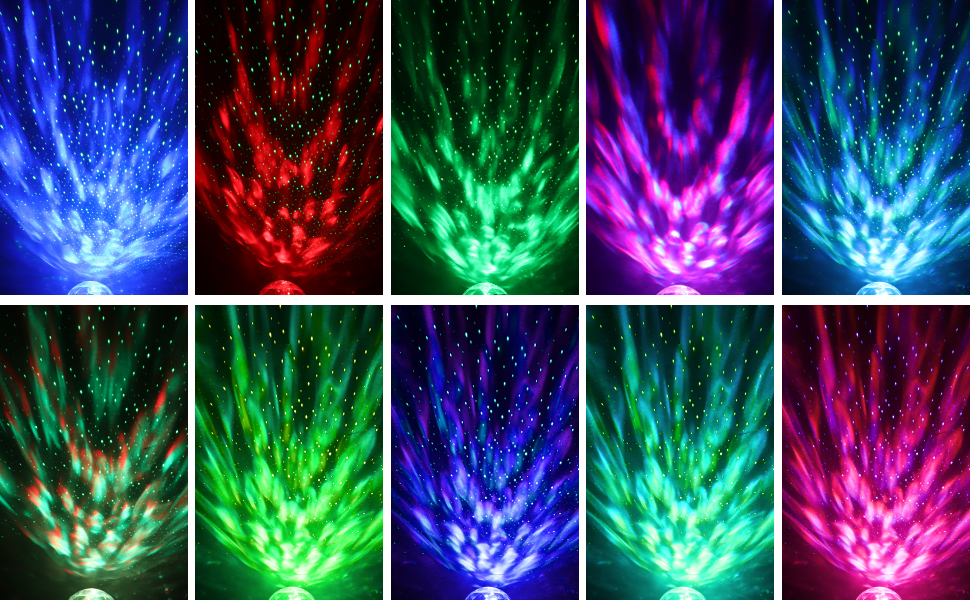star night light projector for kids