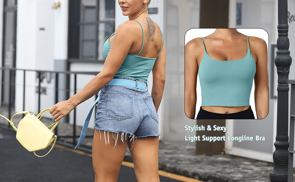 Light Support Longline Bra
