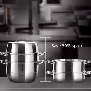 Save 50% space